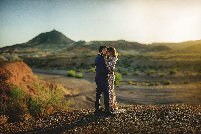 neon graveyard wedding photos