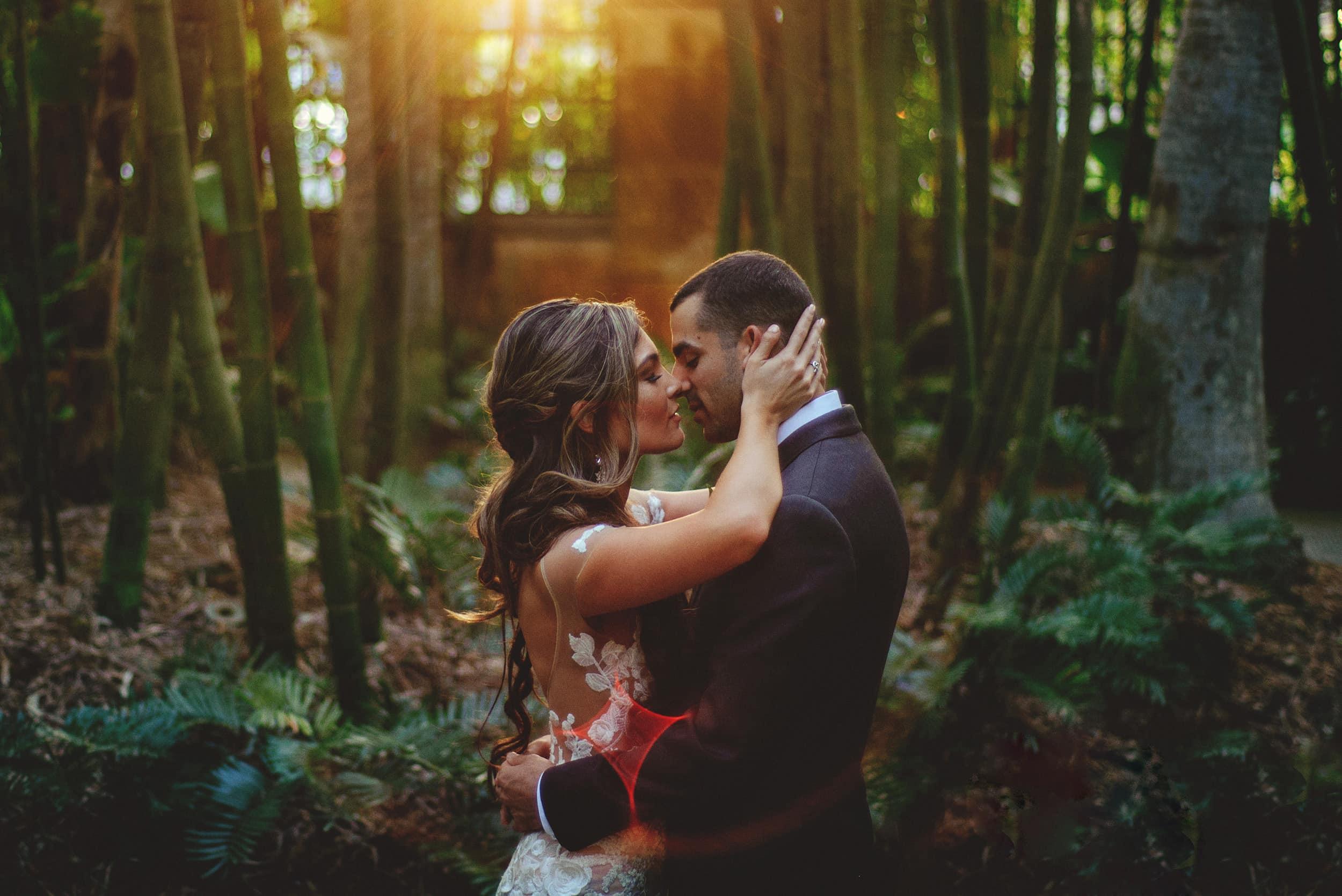 St Petersburg Sunken Gardens Wedding