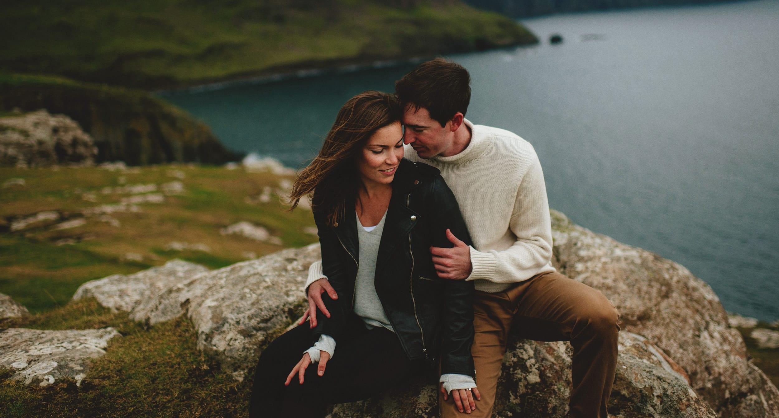 Scottish Highlands Engagement Photos