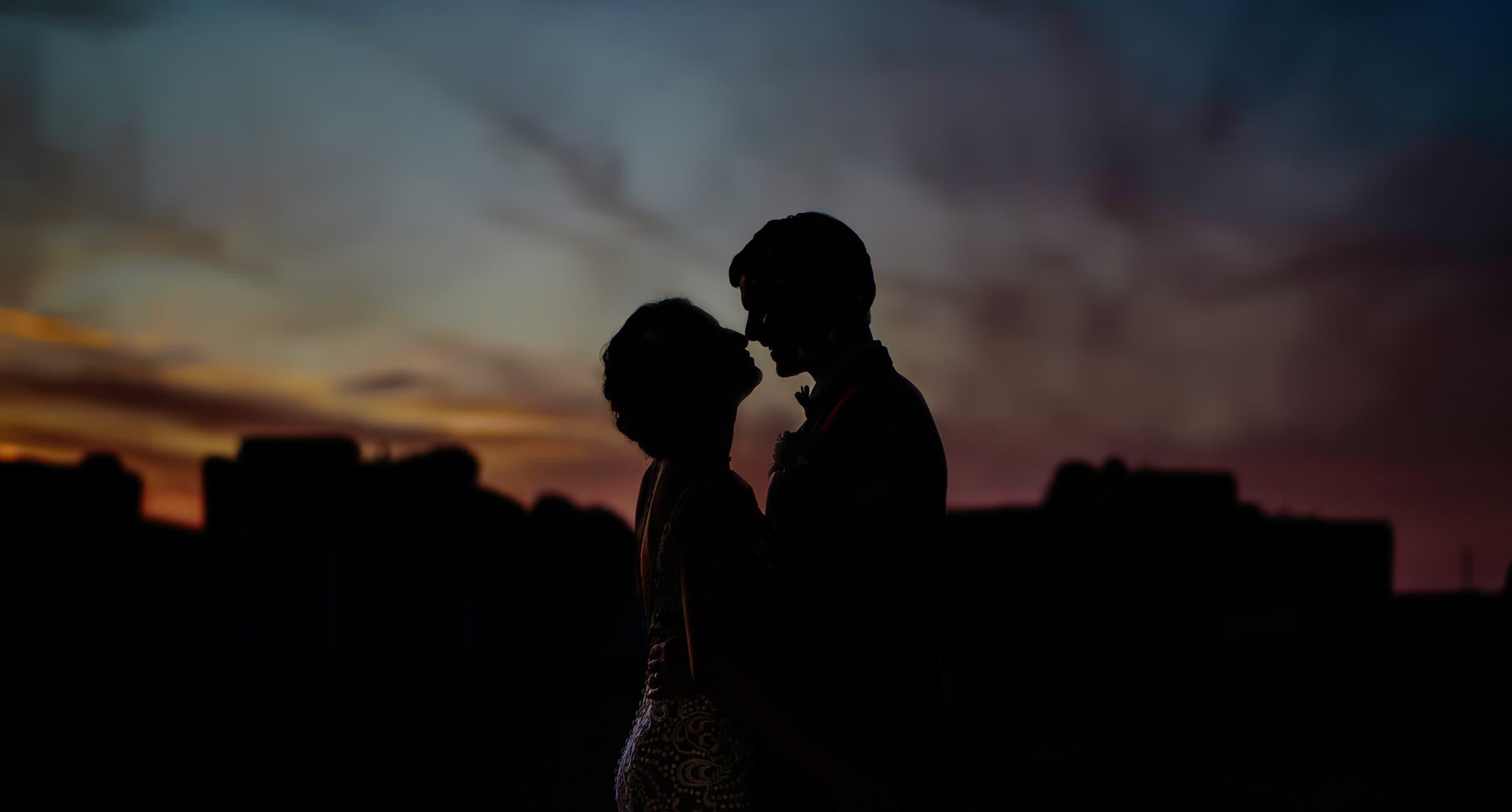 Tampa Bay Sunset Wedding Photos