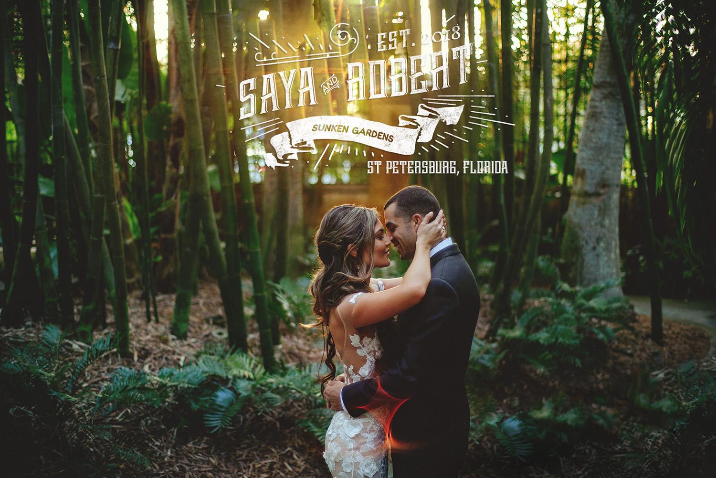 sunken gardens wedding