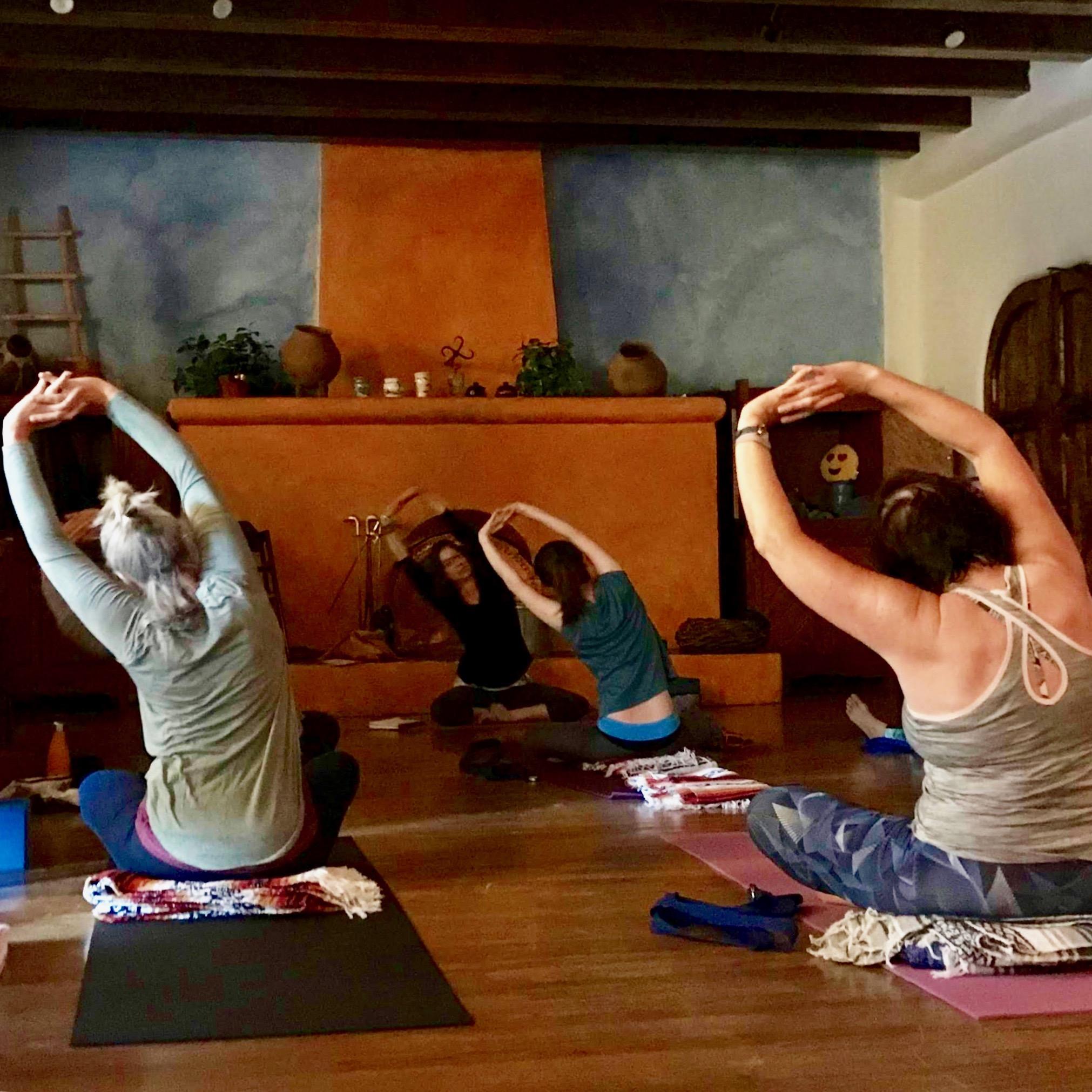 Beautiful & Rustic Yoga Space at Blue Sky
