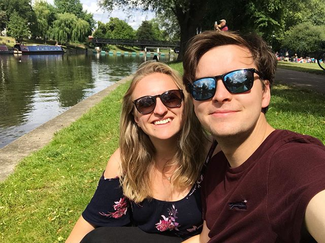 Day out in Cambridge 🚣‍♀️ . . . #cambridge #river #rivercam