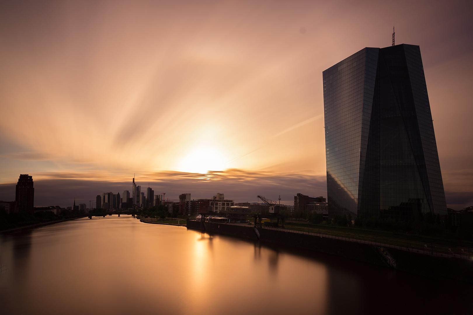 Langzeitbelichtung EZB Osthafen