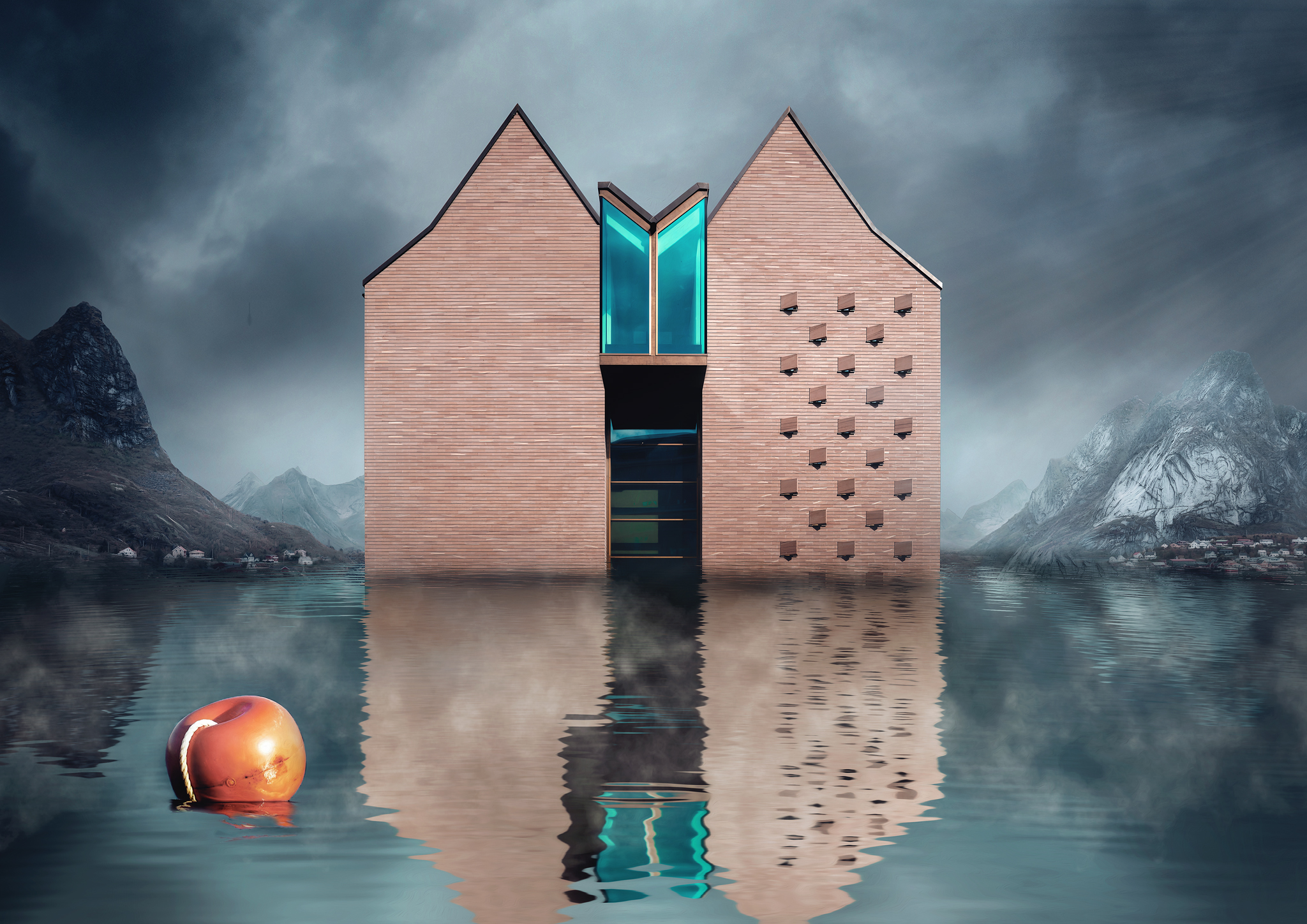 Architektur Photoshop Composing