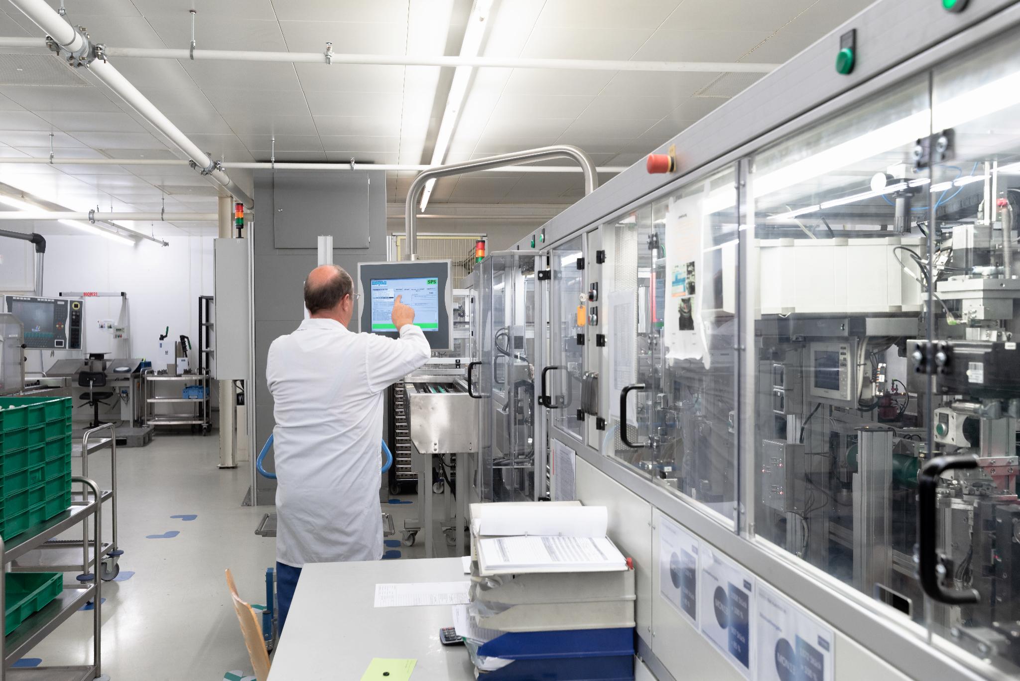 Objekt & Industriefotograf Deutschland: Innenaufnahme des Labors