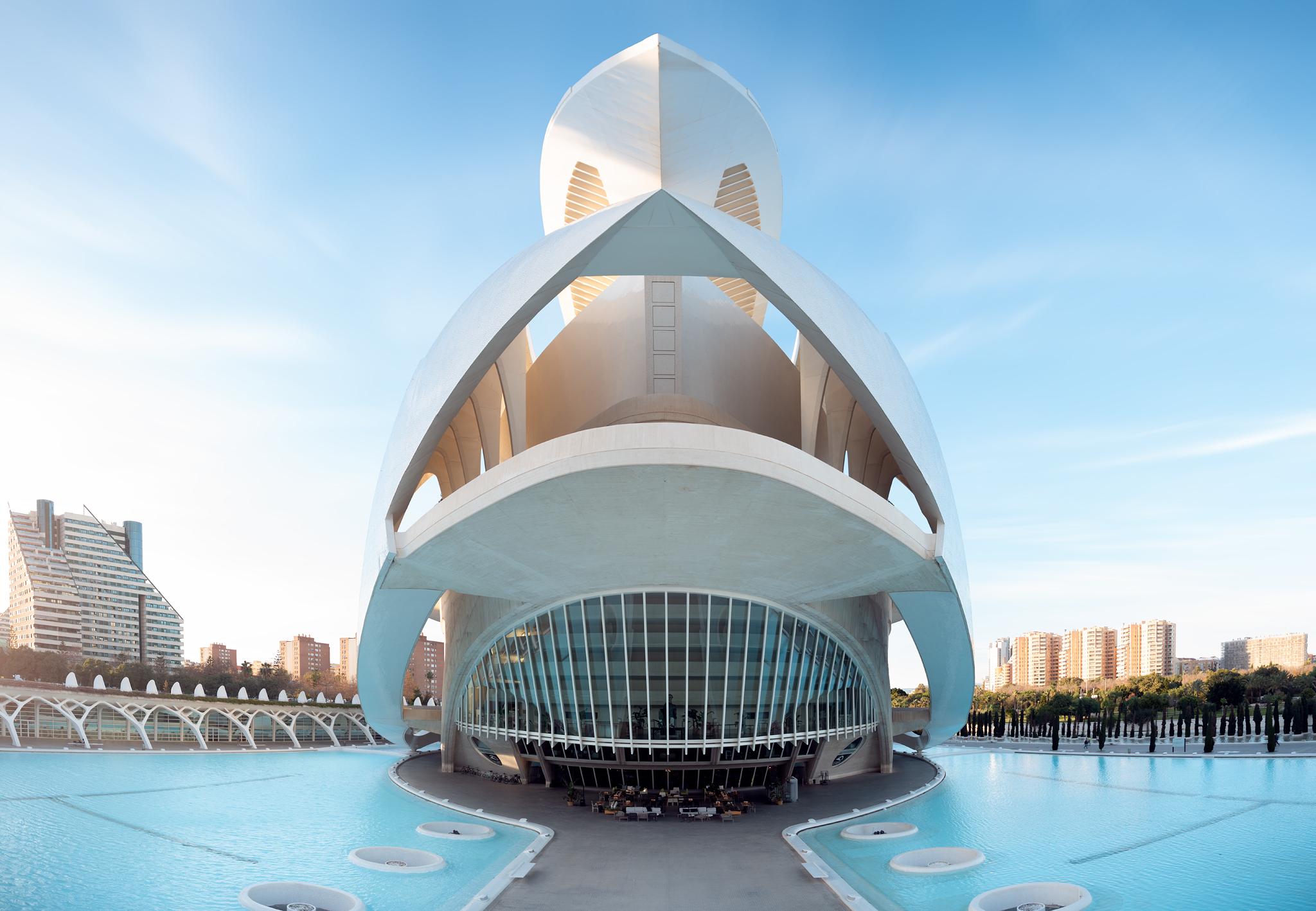 Architekturfotografie Palau de les Arts Reina Sofía, Valencia