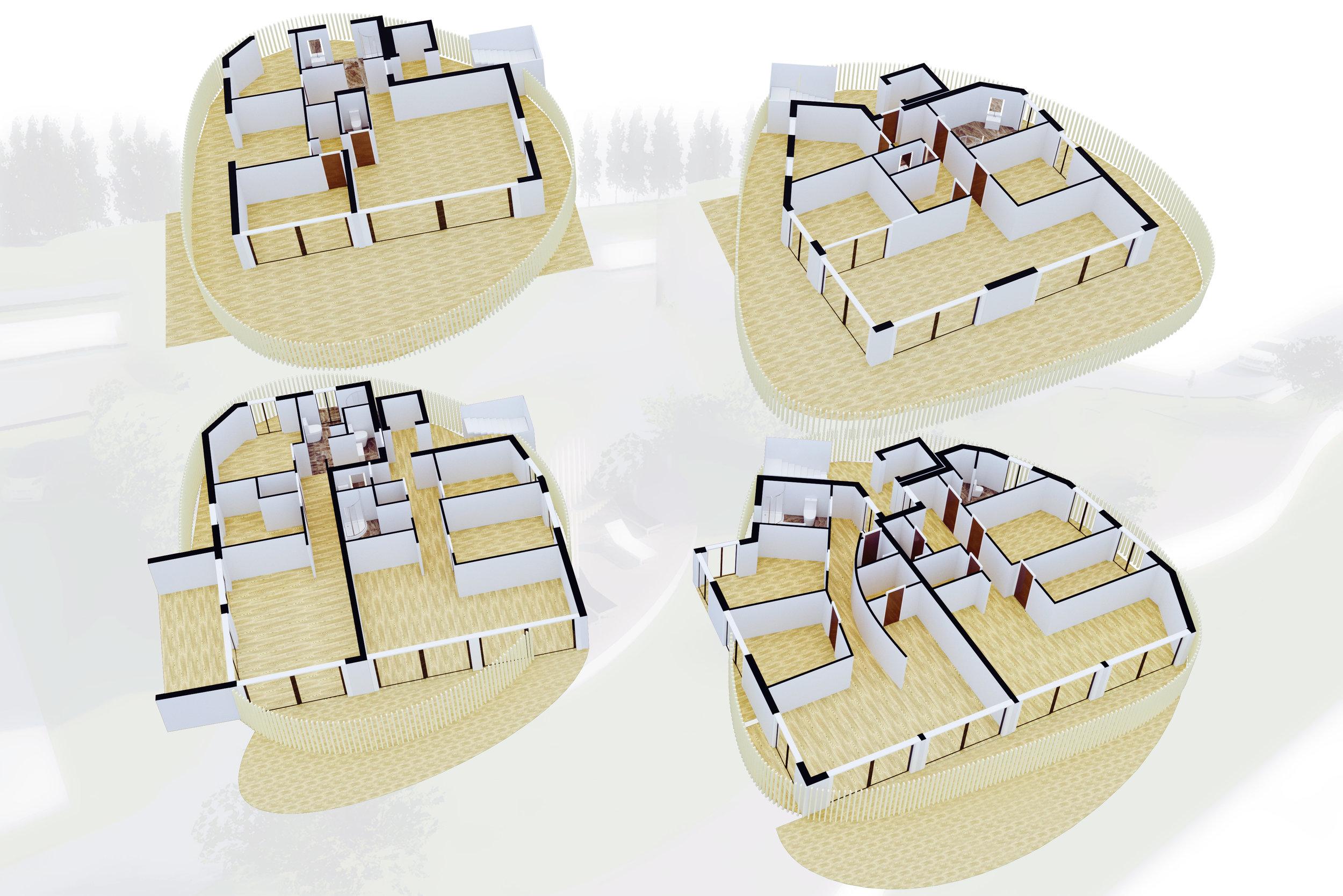Vermarktungsgrundriss 3d - Grundriss überarbeitung