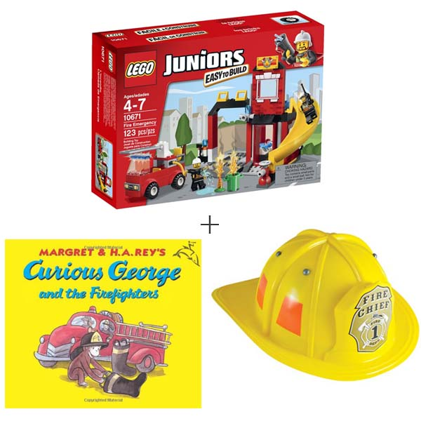 Lego Fire Station Gift