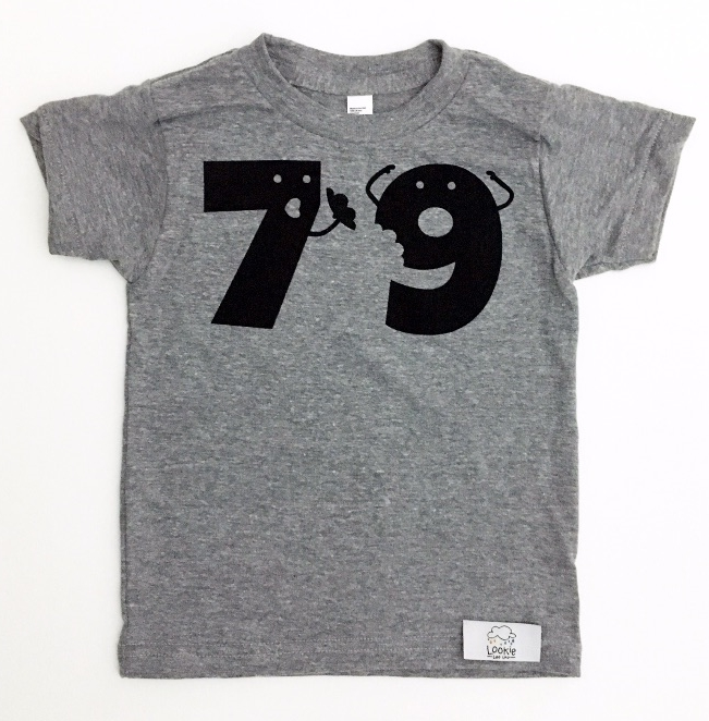 "Lookie Loo Loo's ""7 ate 9"" shirt"