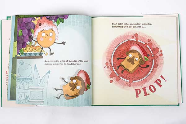 pancake book for kids