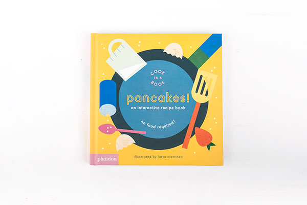 kids pancake book