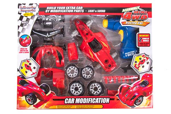 take apart car with toy drill