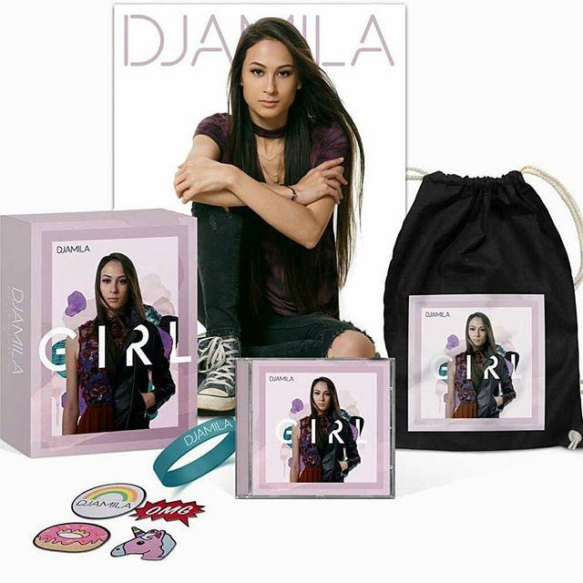 """Invisble"" on Djamila ""Girl"" Album & Fanbox (Becky Jerams/Ellie Wyatt/Paul Drew)"