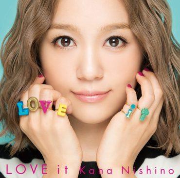 """Best Friends Forever"" on Kana Nishino ""Love It"" album (Becky Jerams/Chris Wortley/Rod Radwagon)"