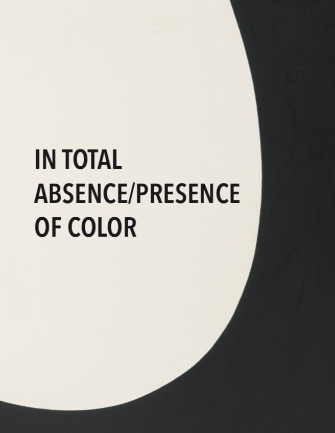 In the Total Absence/Presence of color