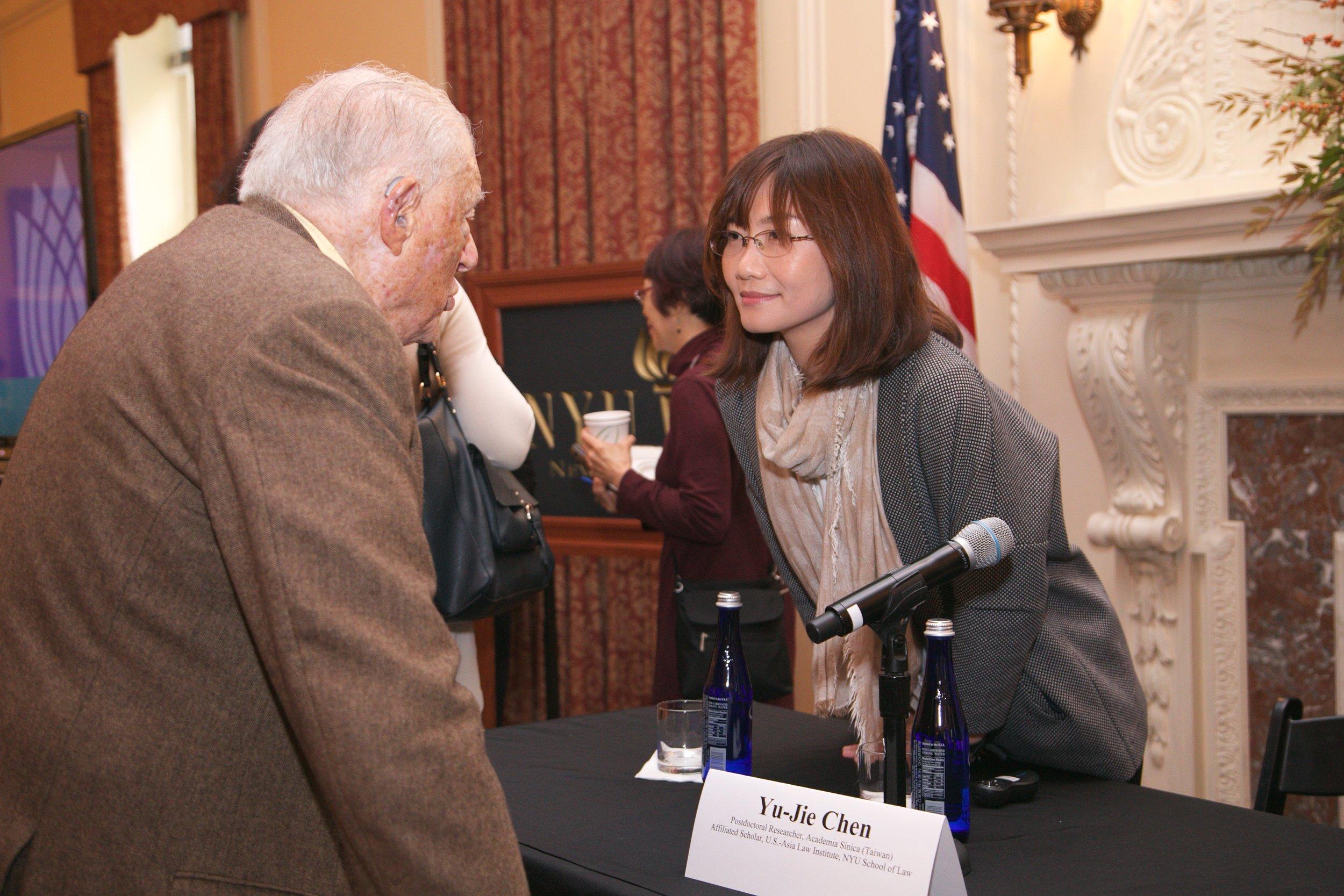 Yu-jie Chen and Robert Bernstein