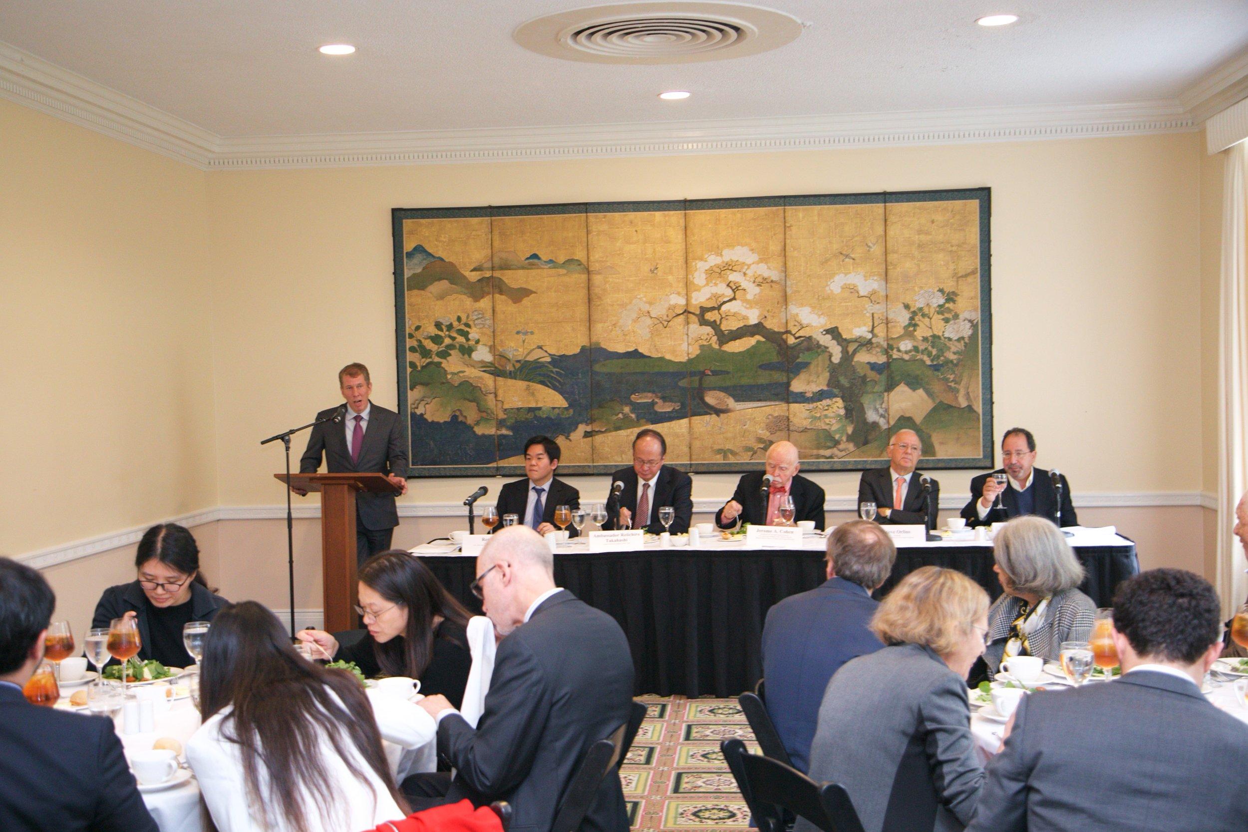 Remarks by NYU Law School Dean Morrison