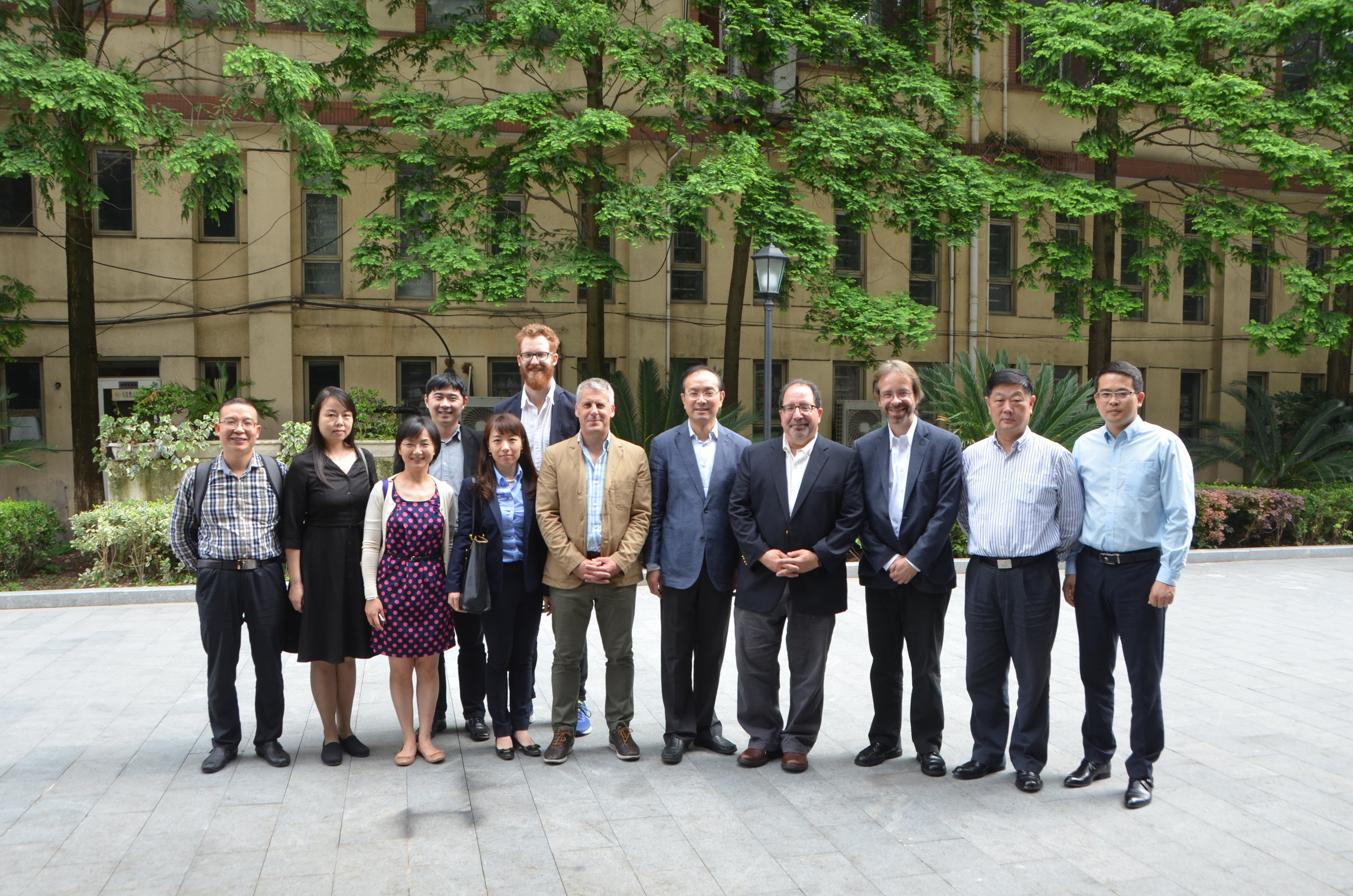 Group Photo at East China University of Political Science and Law