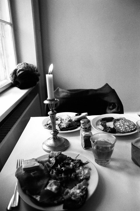 Breakfast, Christiania, Copenhagen