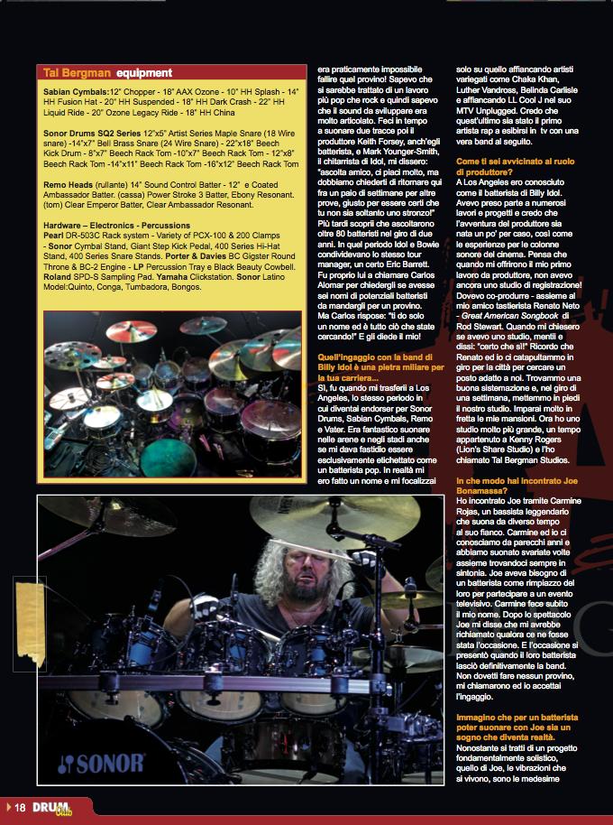 Drum Club feb 2013 Tal Bergman page 3