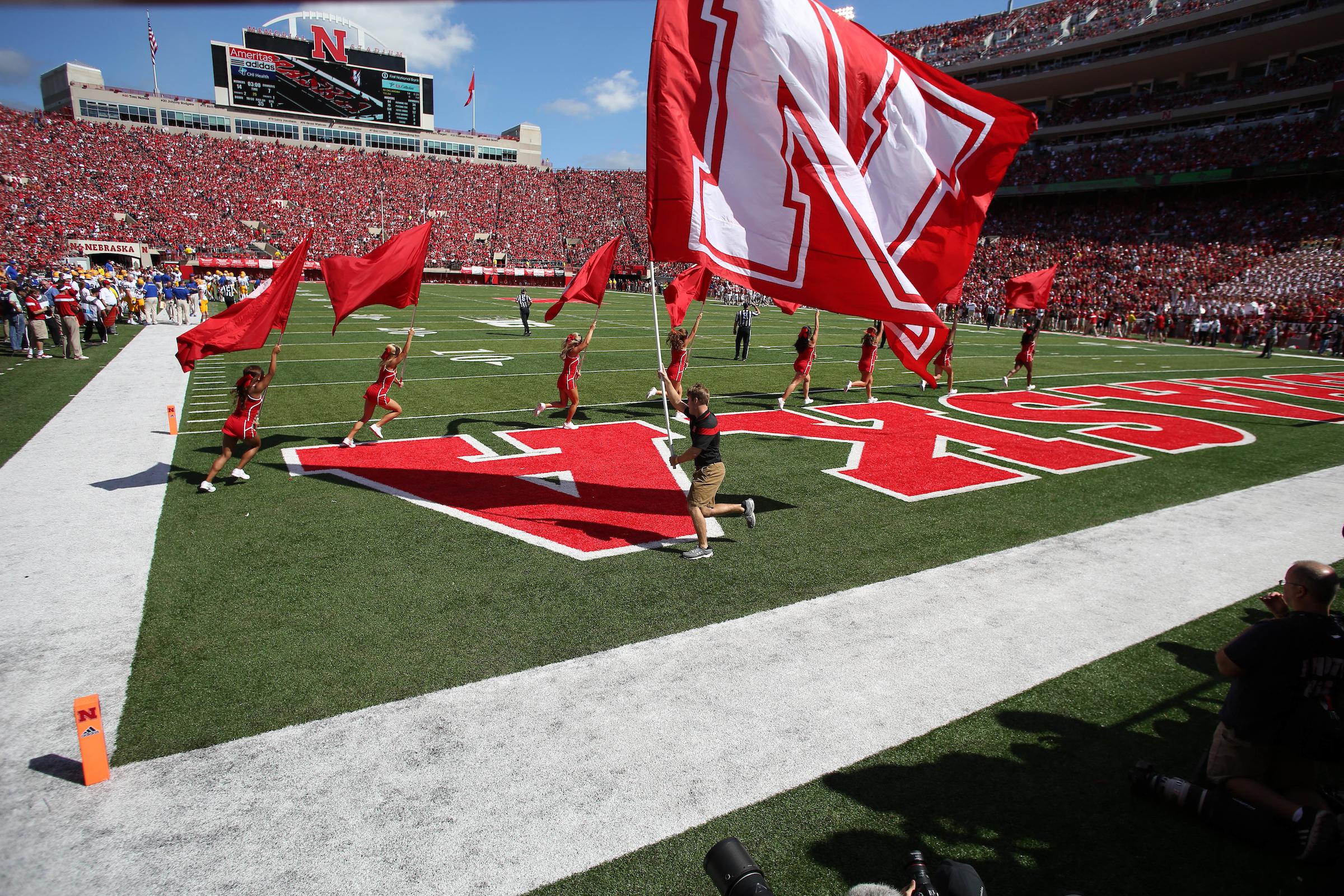 Image courtesy University of Nebraska Athletics