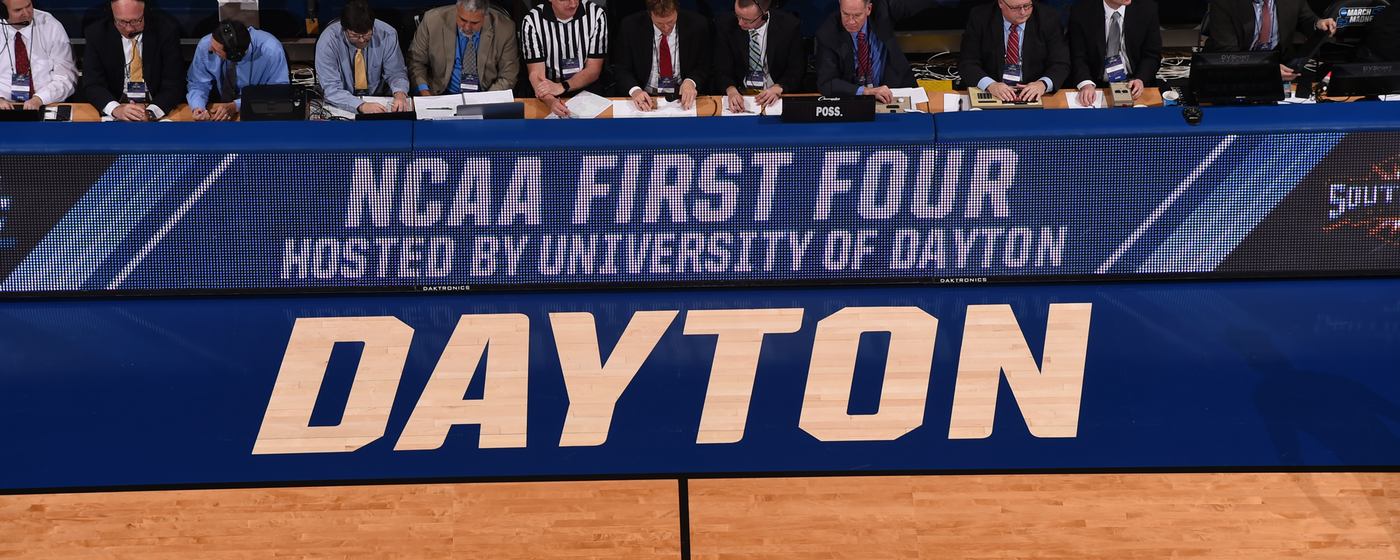 University of Dayton Arena delivers on in-venue WiFi at First Four.  Photo courtesy Dayton Athletics