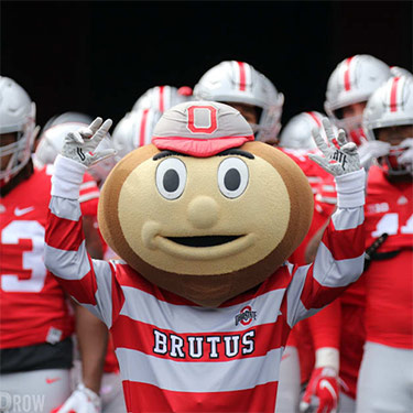 @Brutus_Buckeye is currently a Twitter-verified account with over 184,000 followers.