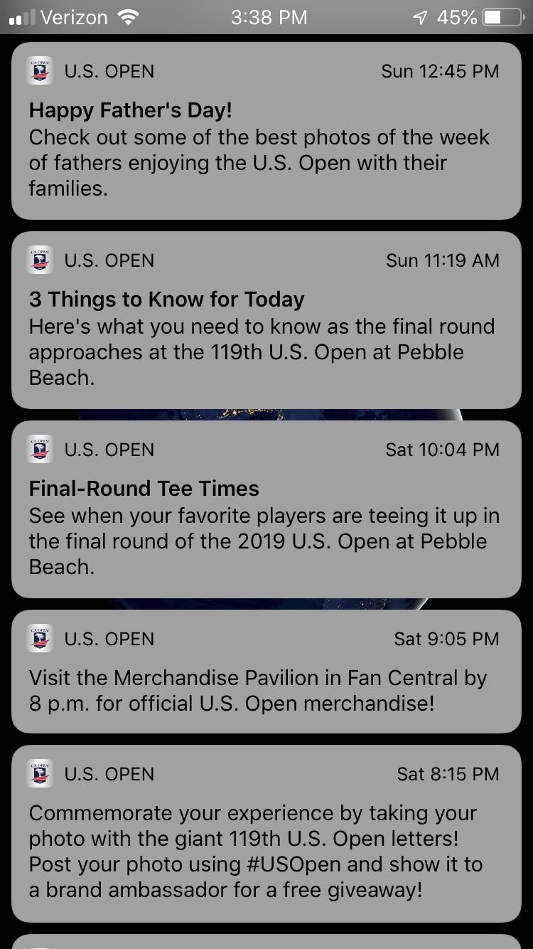 Push notifications for the win.