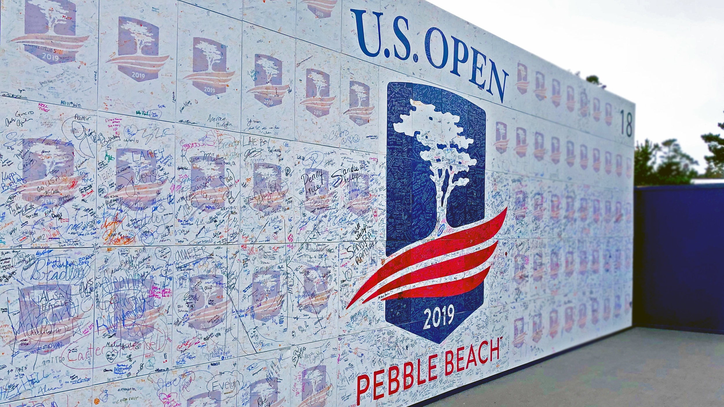 The 119th U.S. Open. was held at Pebble Beach Golf Links June 13-16. Pebble Beach is celebrating its 100th anniversary this year, and has hosted the U.S. Open 6 times.
