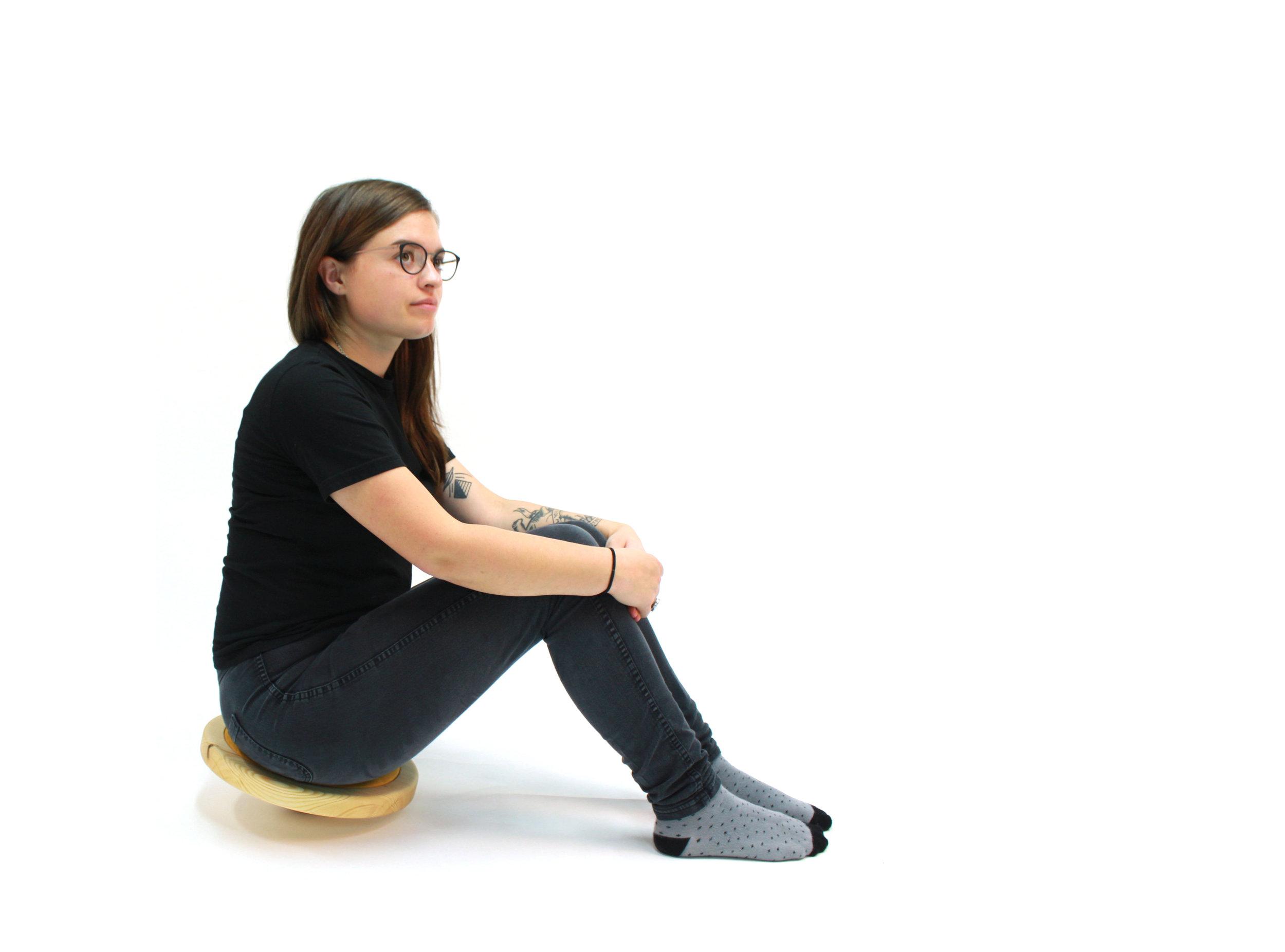 Yolk stool