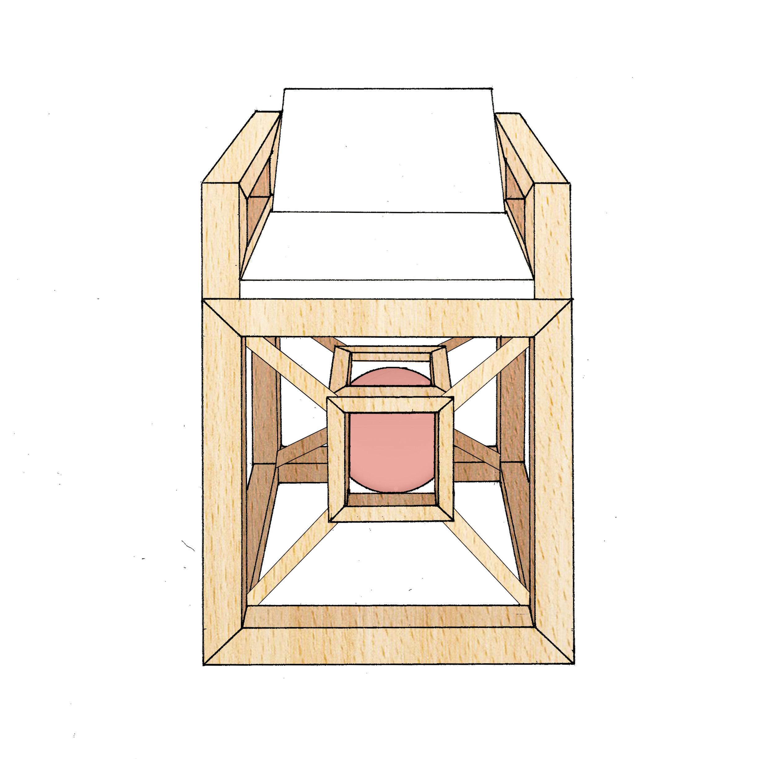 Furniture concept sketch