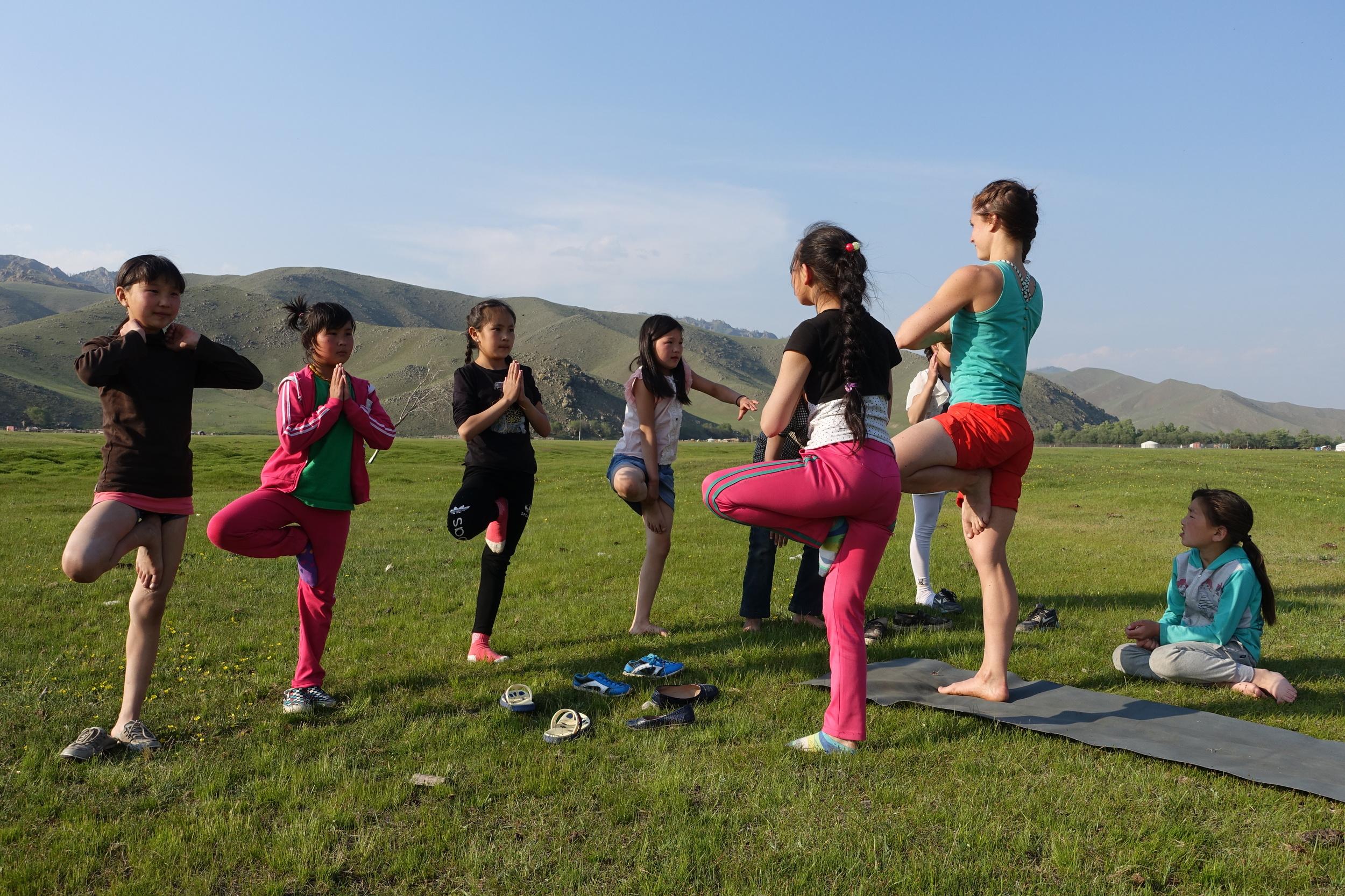 8 aspirant yogis