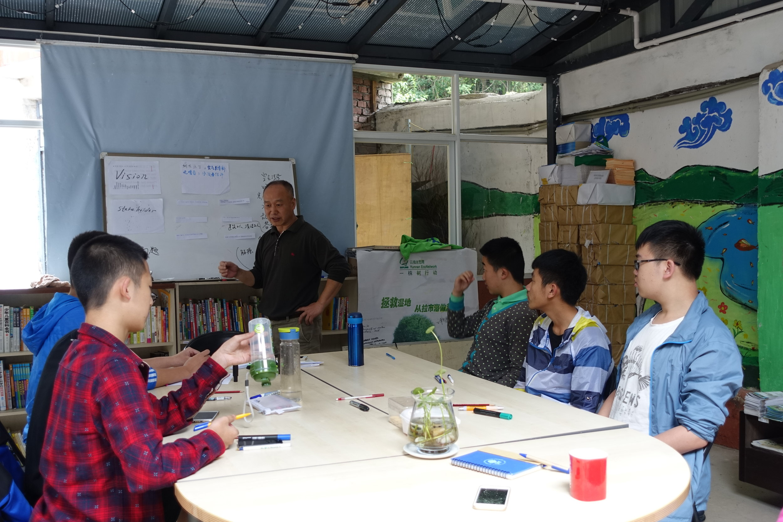 Students also learn project management and leadership skills, to help them become actors in the future of the climate discussions and actions, in China and beyond.
