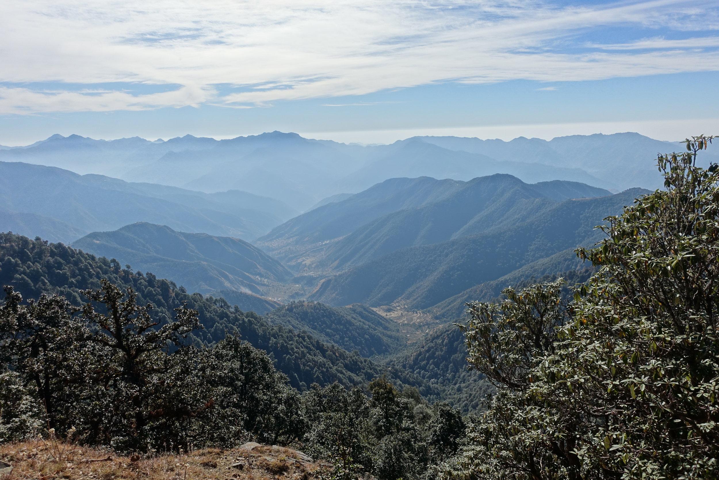 Pristine landscapes in rural Uttarakhand.