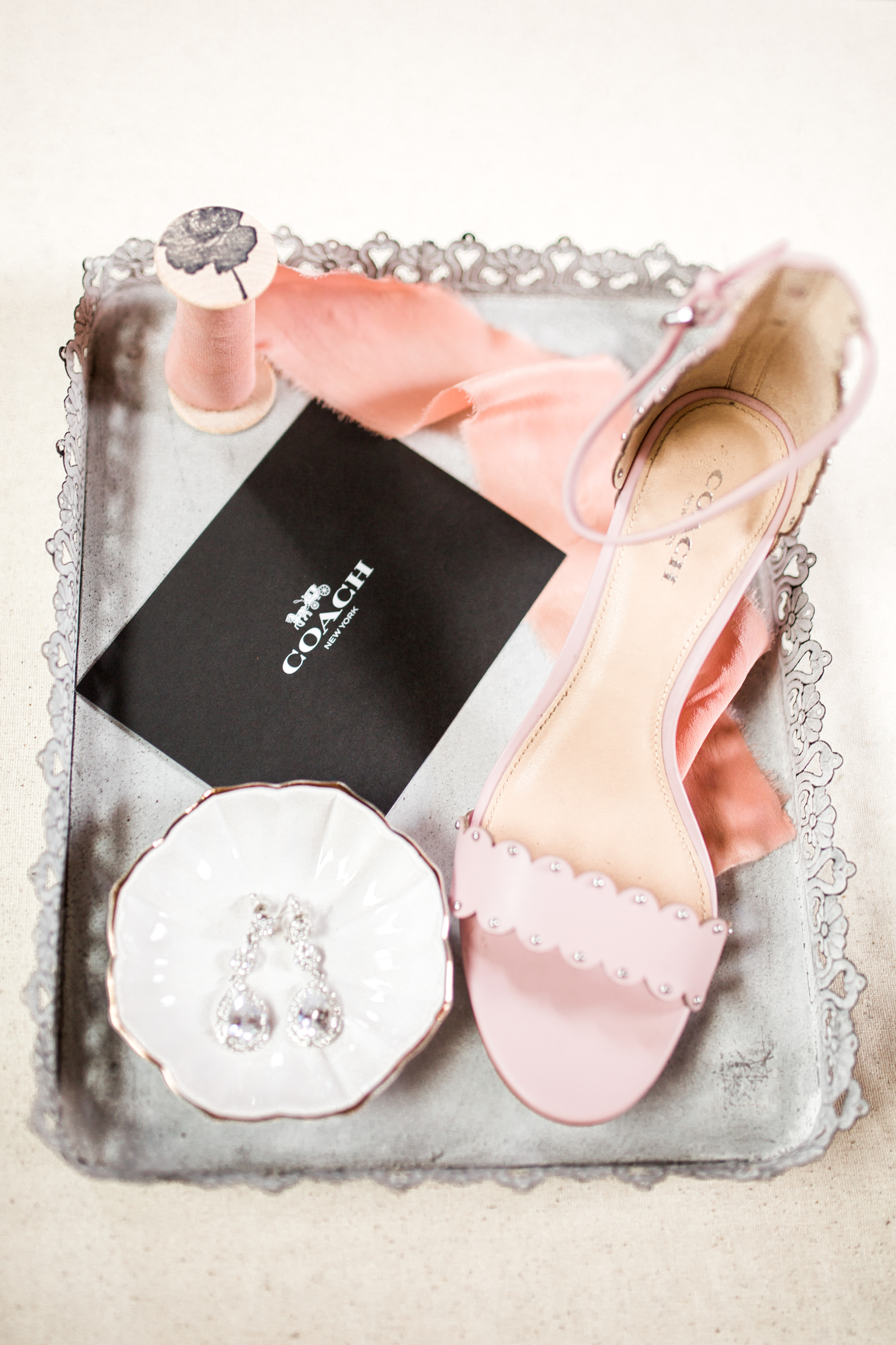 Sterling Stables, Cocoa FL Wedding detail shoes, earrings