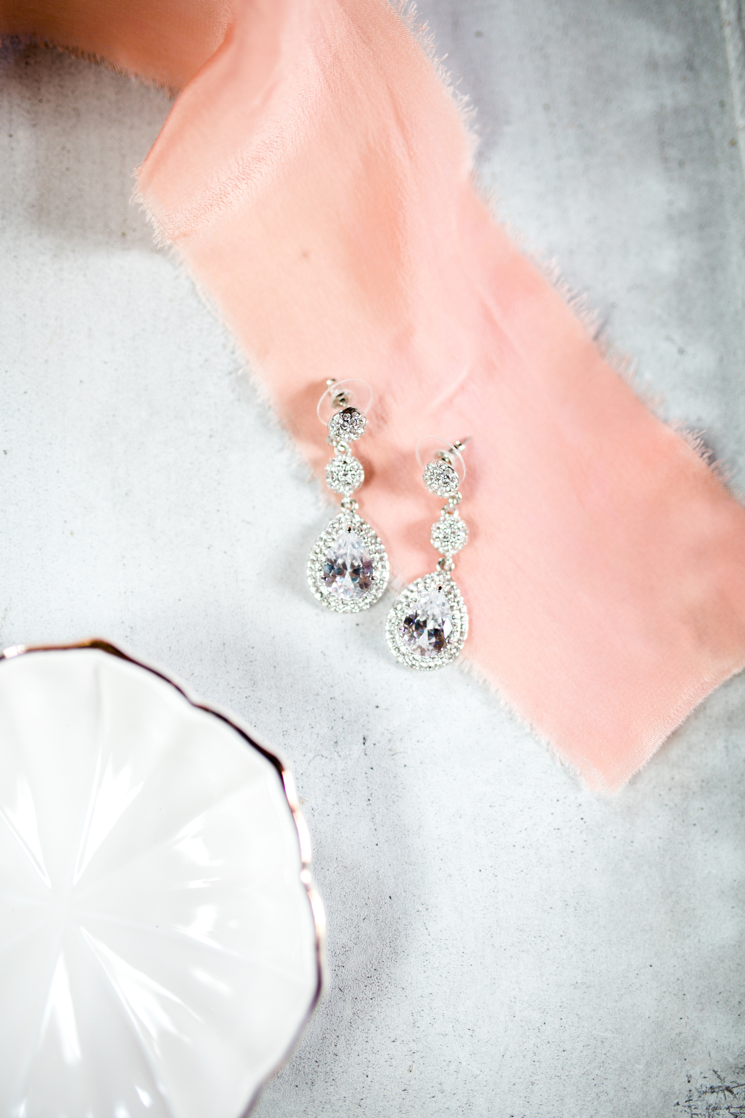 Sterling Stables, Cocoa FL Wedding details earrings