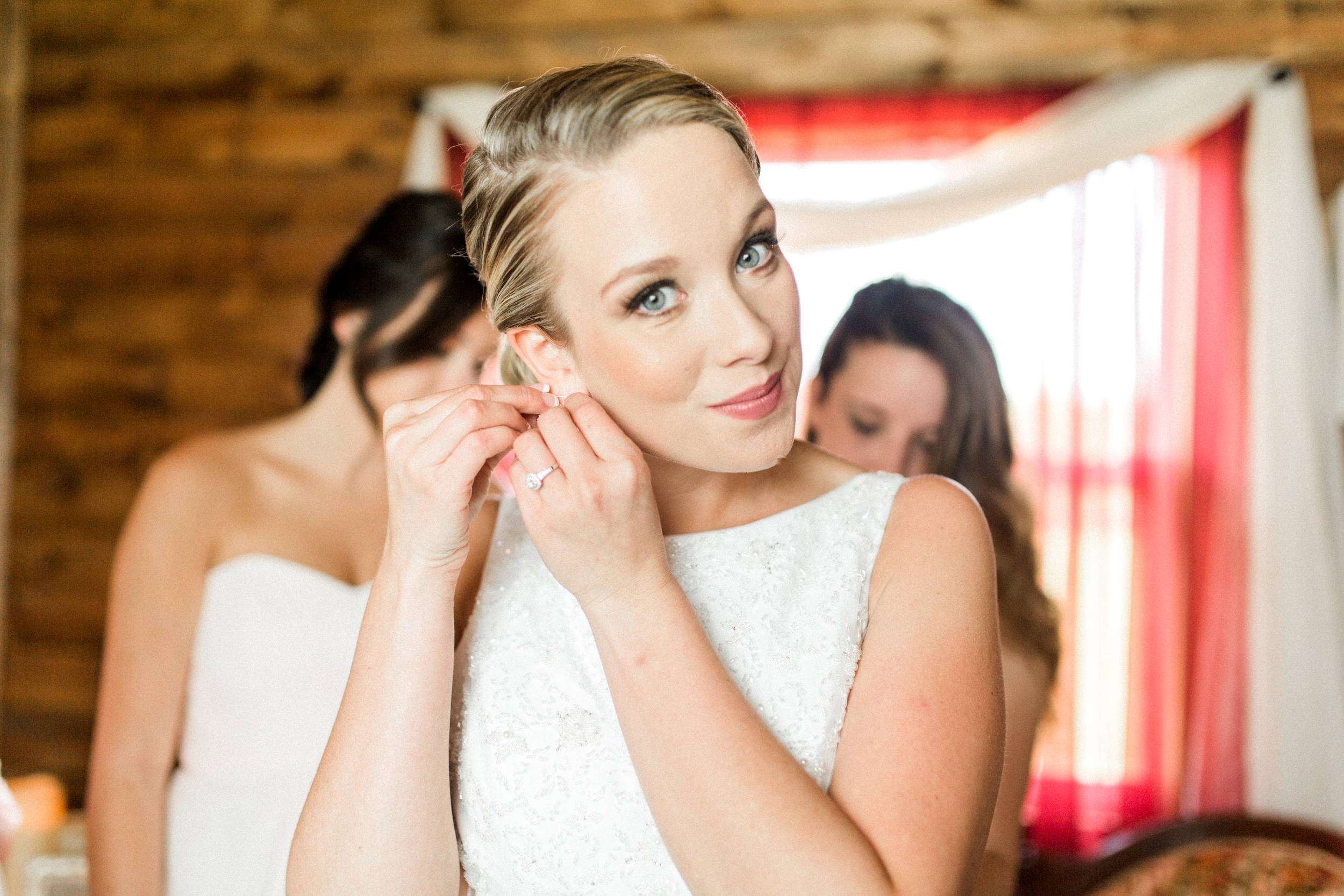 Sterling stables, brevard county FL wedding bride getting ready photo