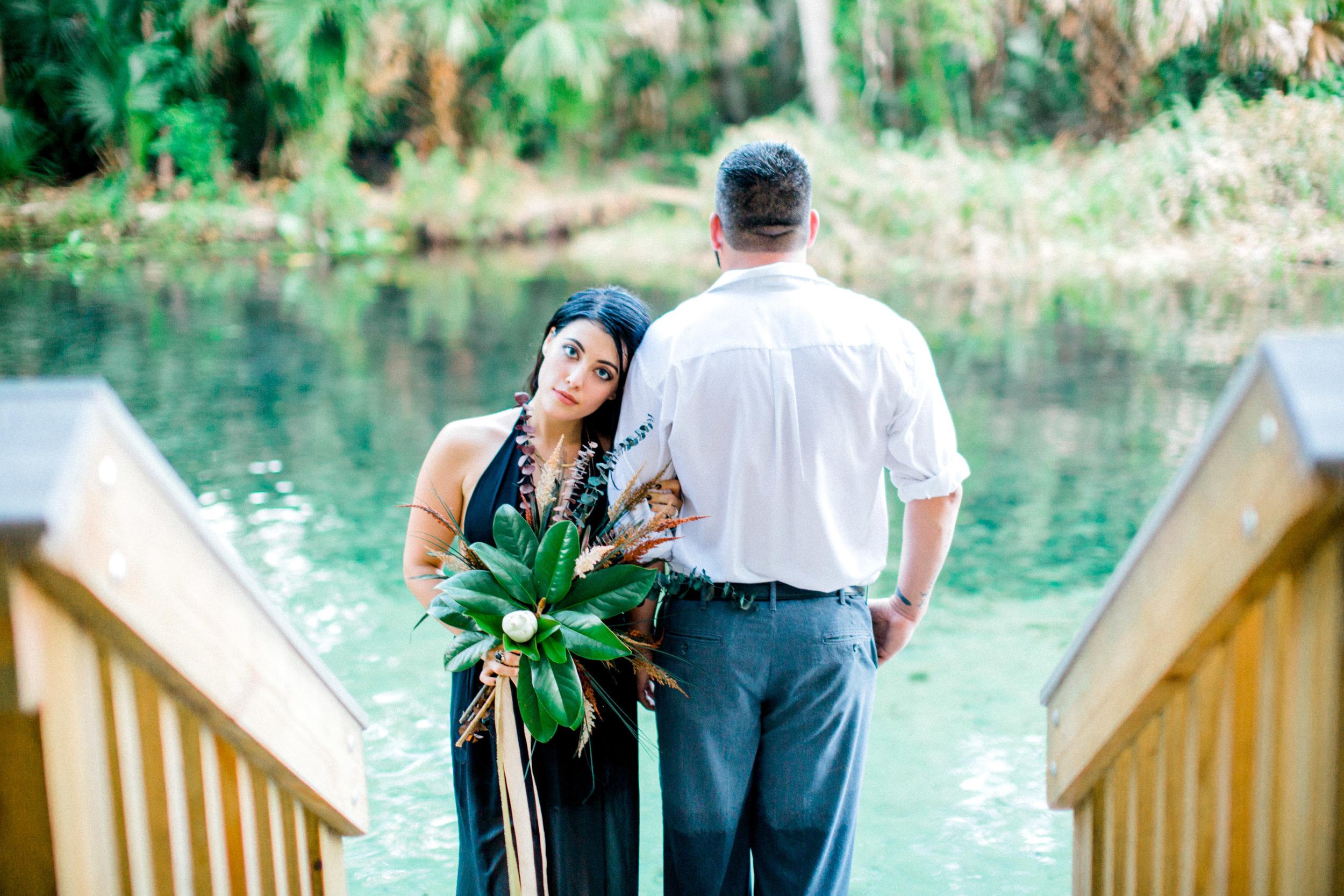 wekiva springs orlando florida engagement photography