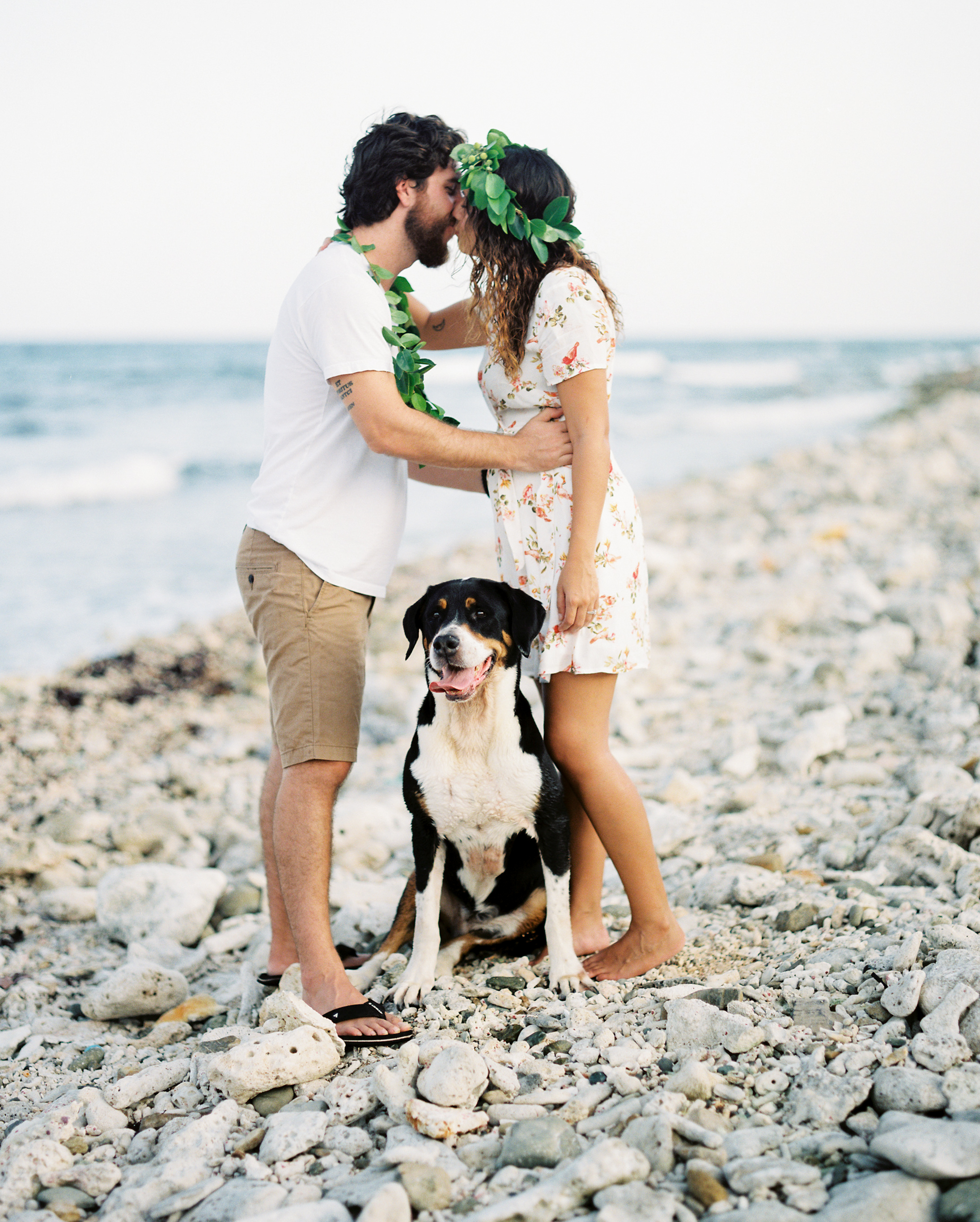 water island, st. thomas US virgin islands engagement photo