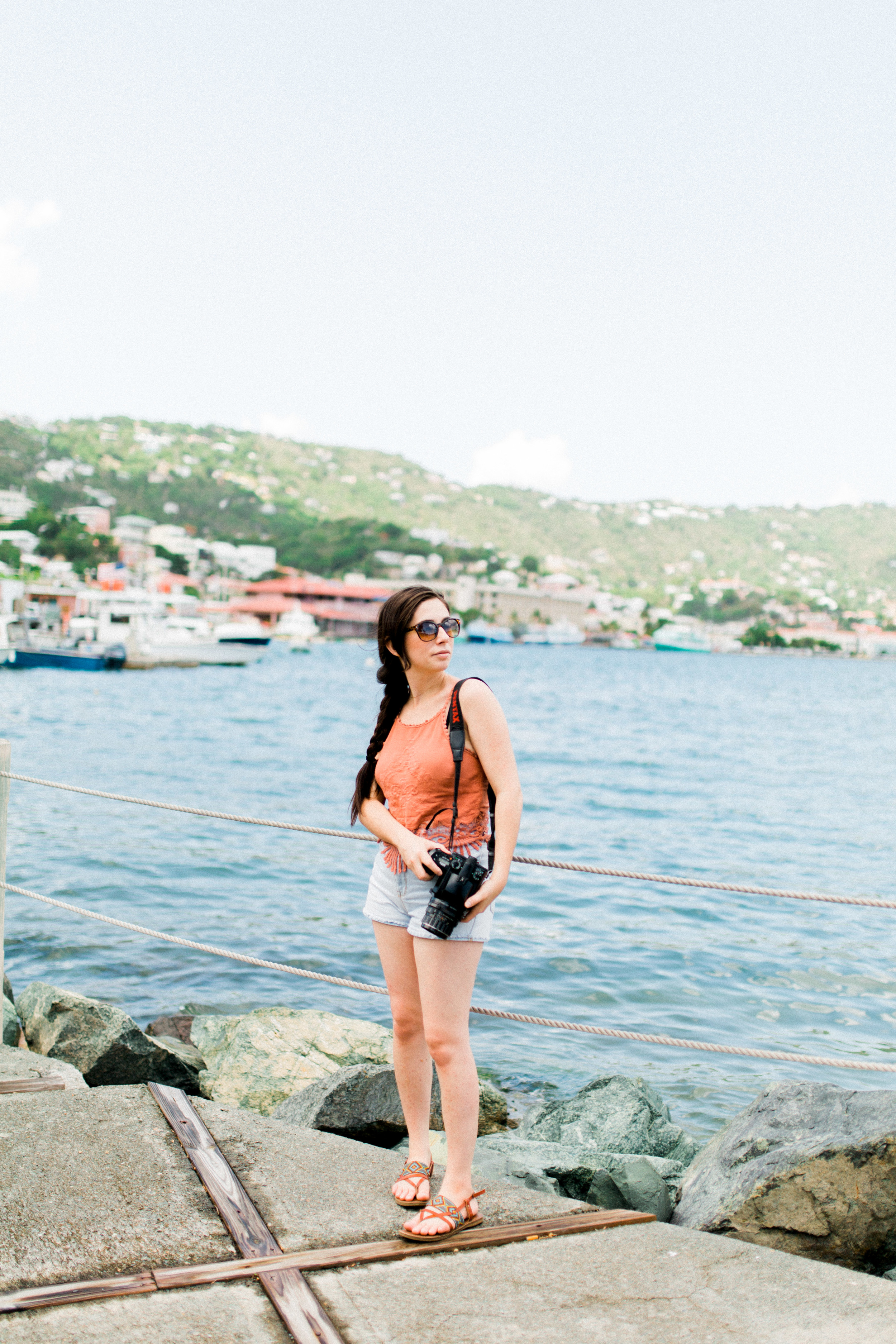 St. Thomas, water island USVI landscape, traveling photographer