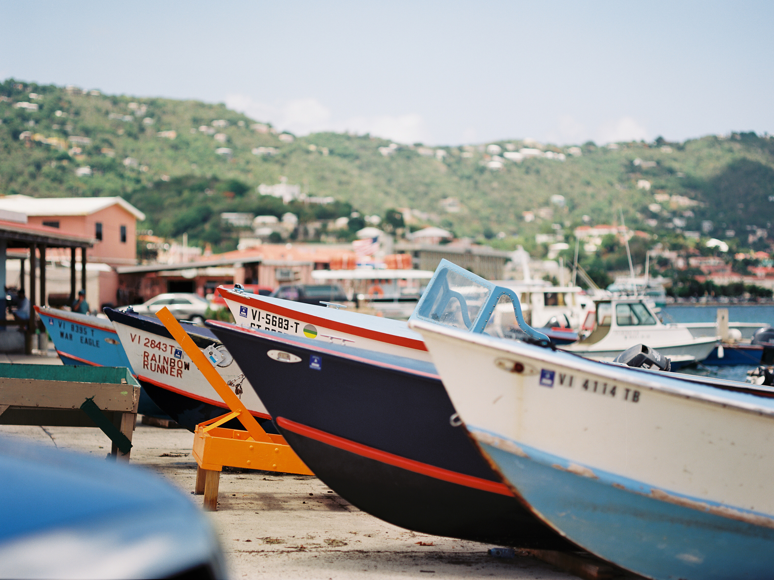 St. Thomas, water island USVI boats traveling photographer