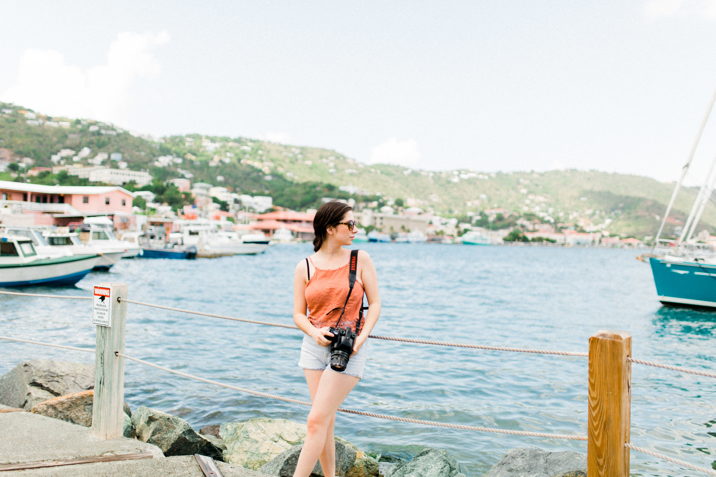 St. Thomas, french town USVI traveling photographer