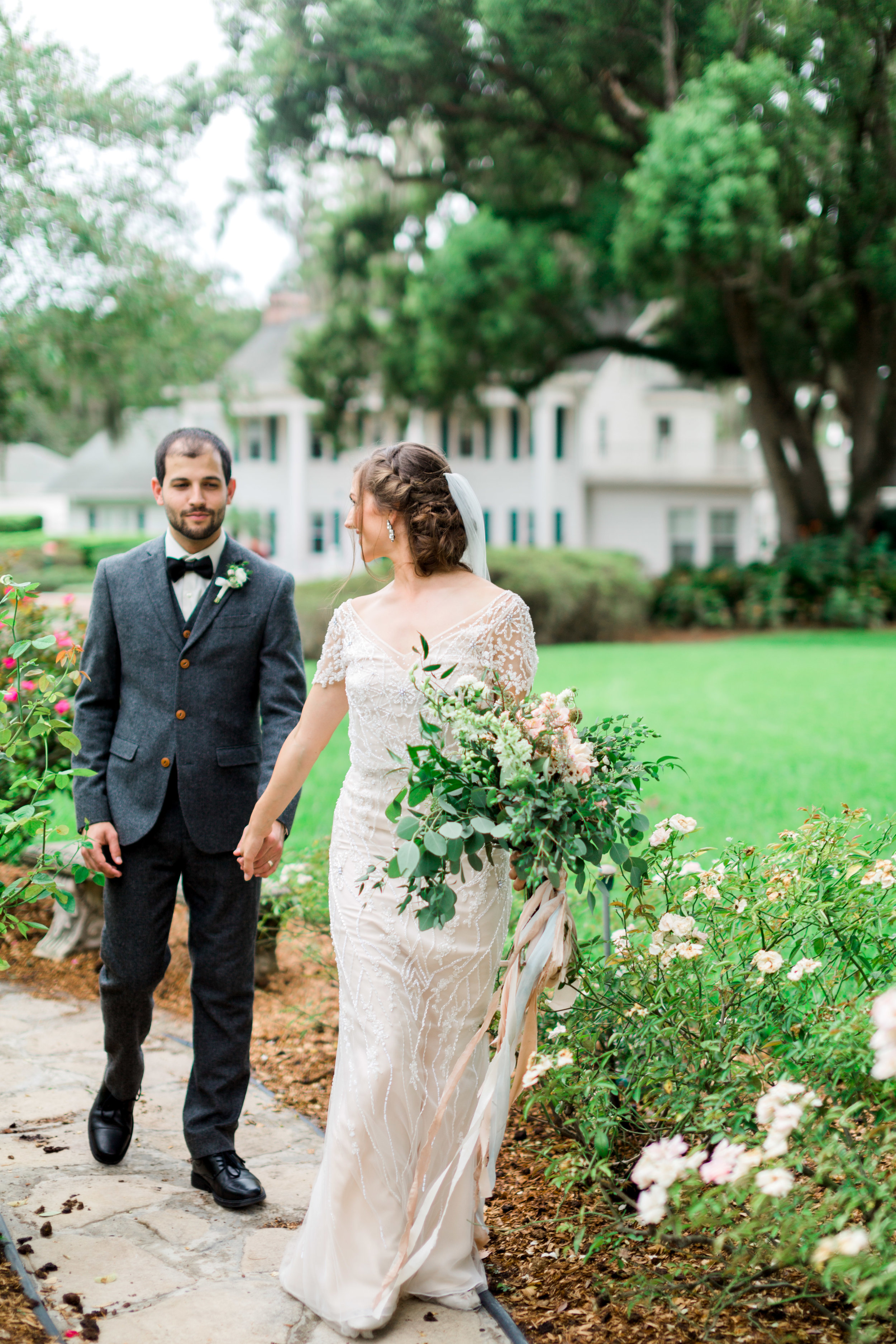 cypress grove estate house orlando florida wedding photos