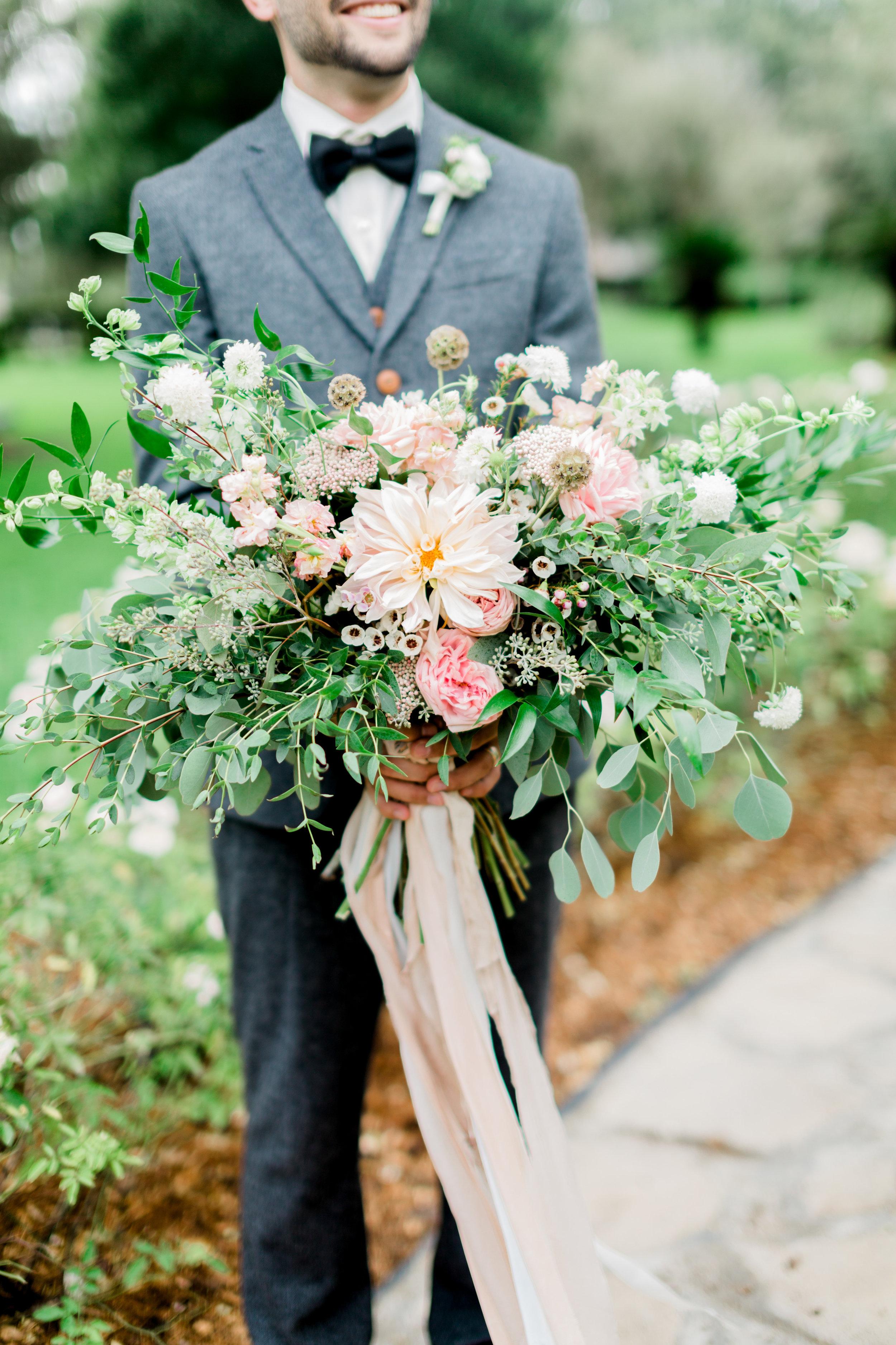 cypress grove estate house orlando florida wedding photos, bouquet