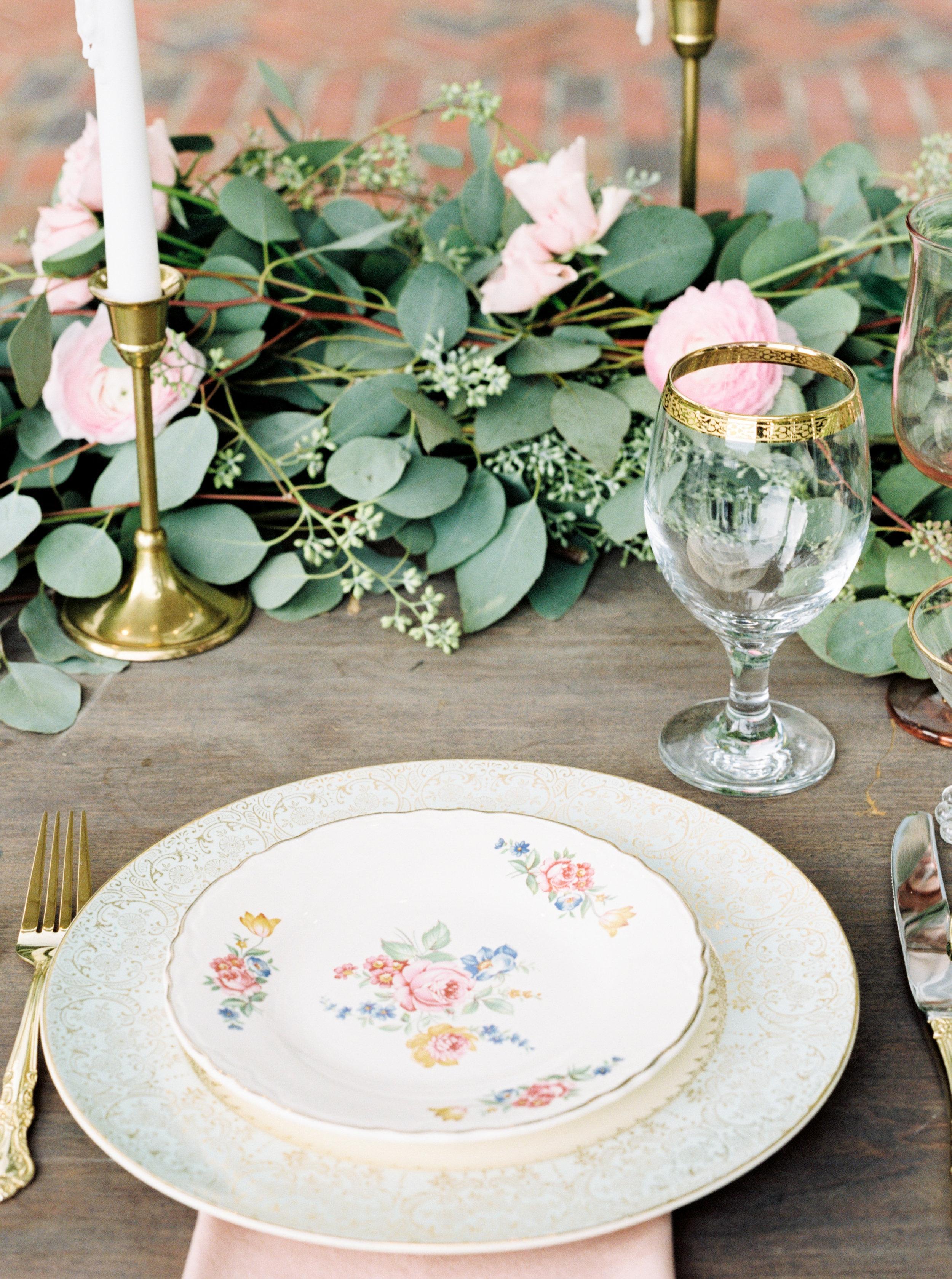 cypress grove estate house orlando florida wedding photos, table scape of sweetheart table
