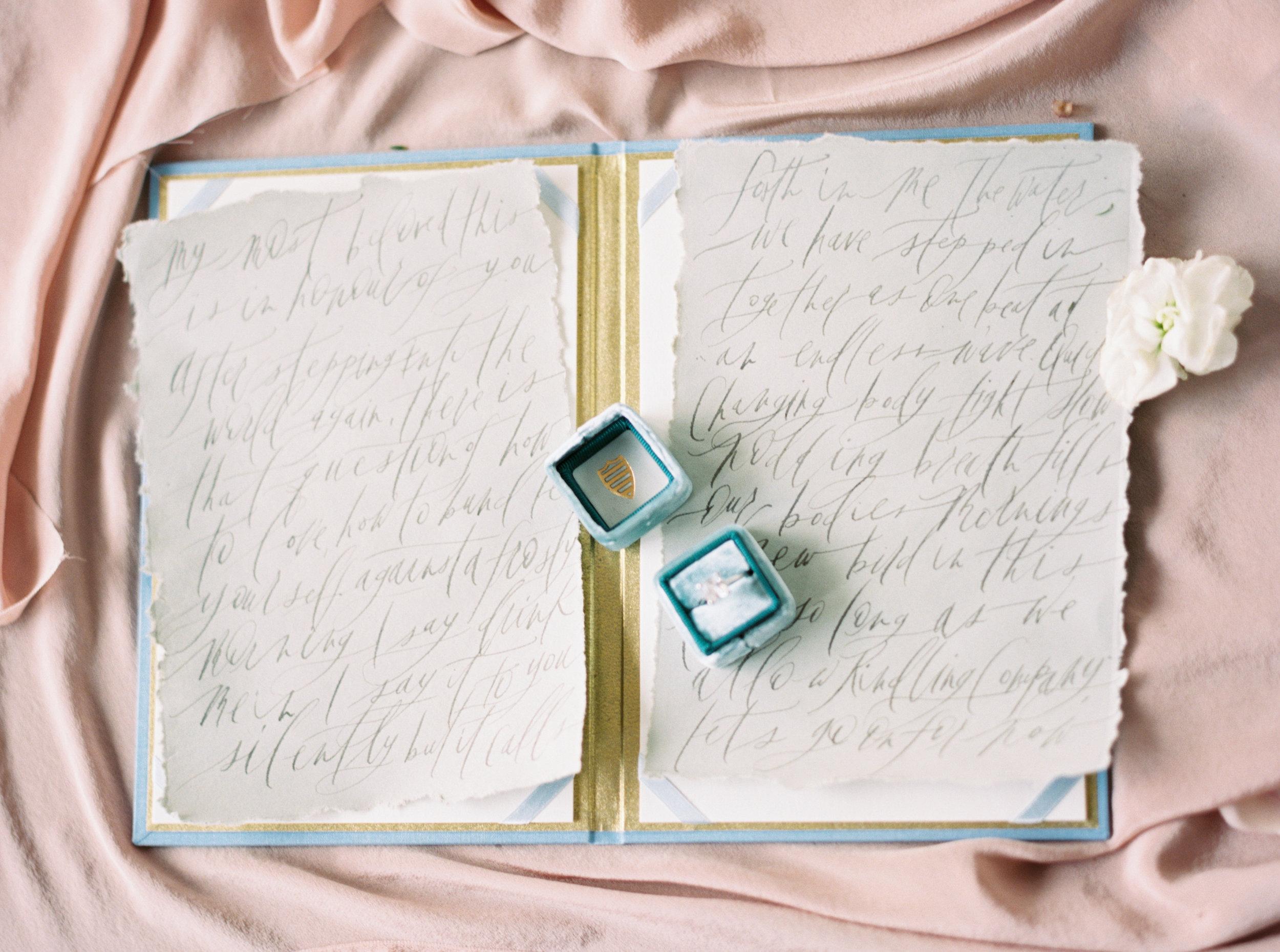 cypress grove estate house orlando florida wedding photos, calligraphy