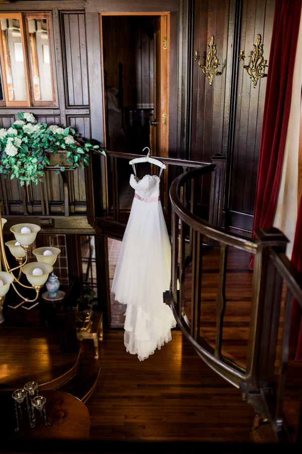 estate on the halifax wedding photos getting ready, gown wedding dress detail