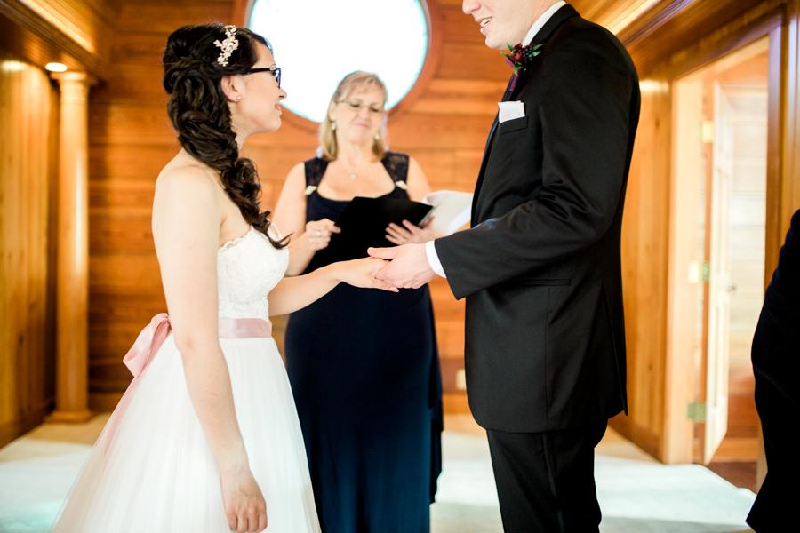 estate on the halifax in daytona beach, port orange fl wedding photos, ceremony