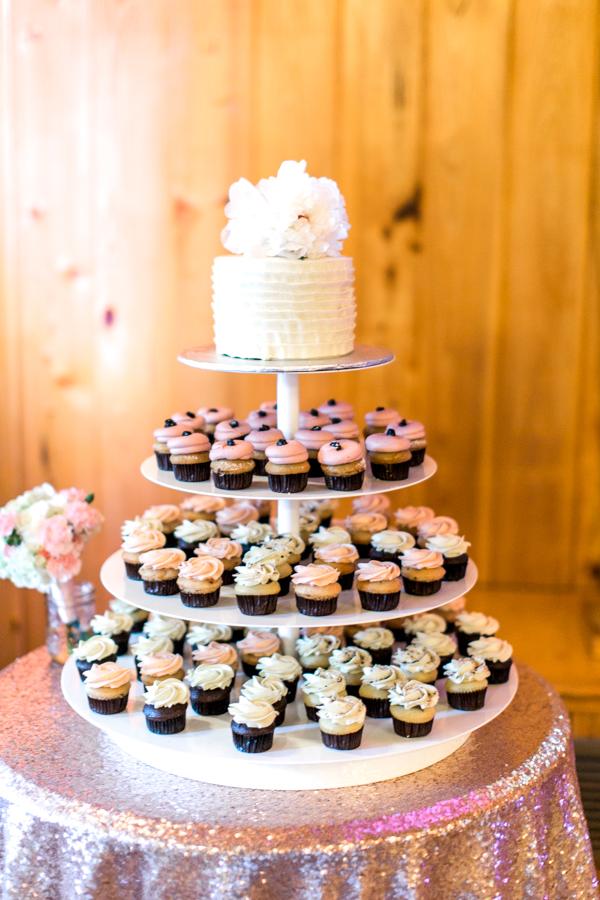 estate on the halifax in daytona beach, port orange fl wedding photos, reception cake details